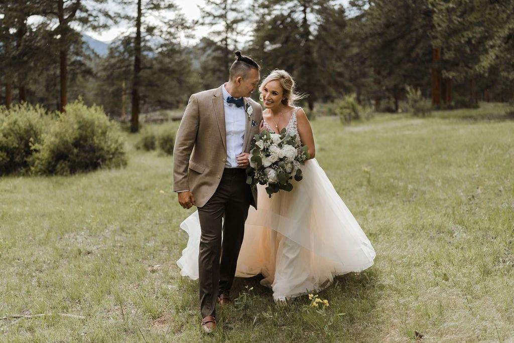 Della Terra Bride and Groom Portraits