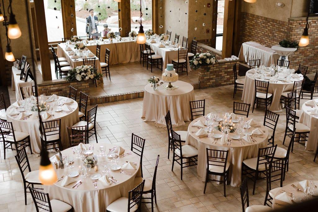 Romantic Della Terra Reception Set Up