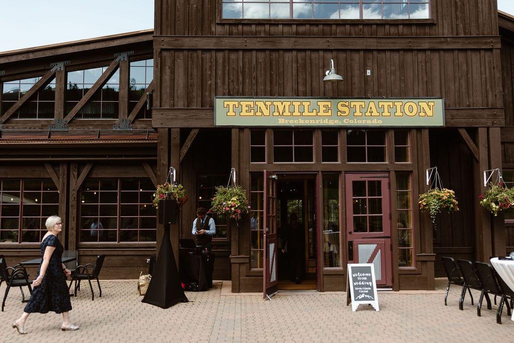 Ten Mile Station Wedding Venue in Breckenridge