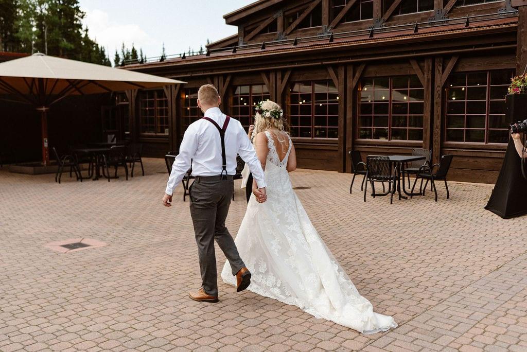 Ten Mile Station Wedding Ceremony Breckenridge