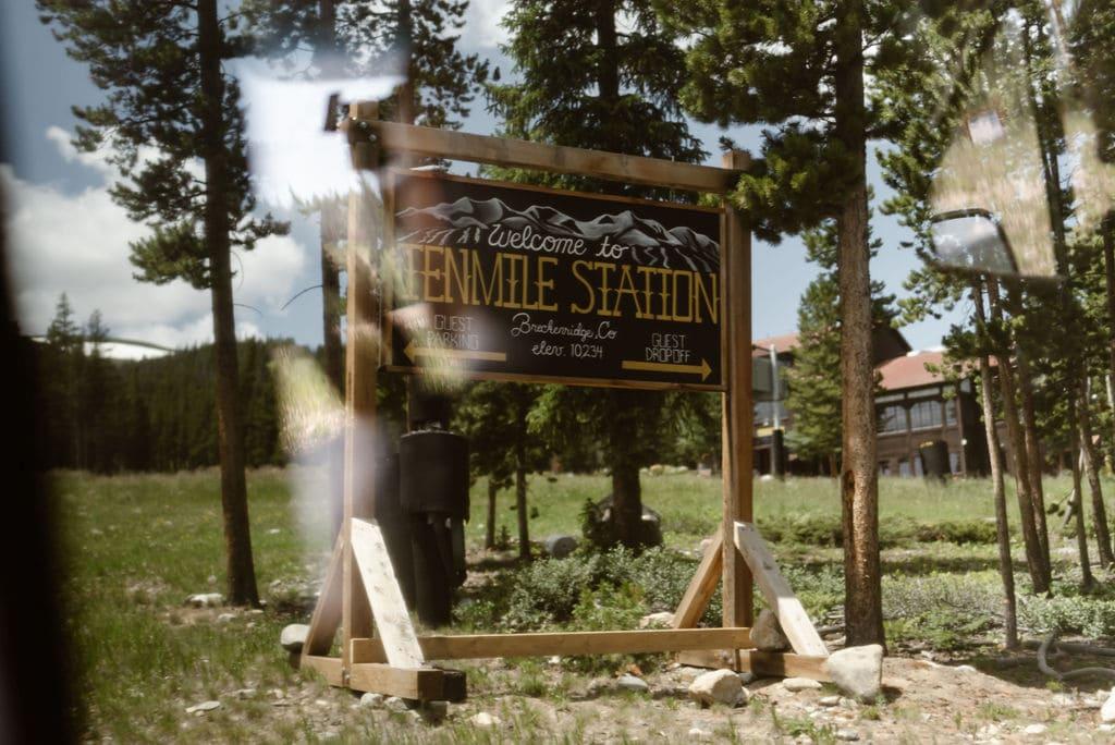 Ten Mile Station Breckenridge Colorado