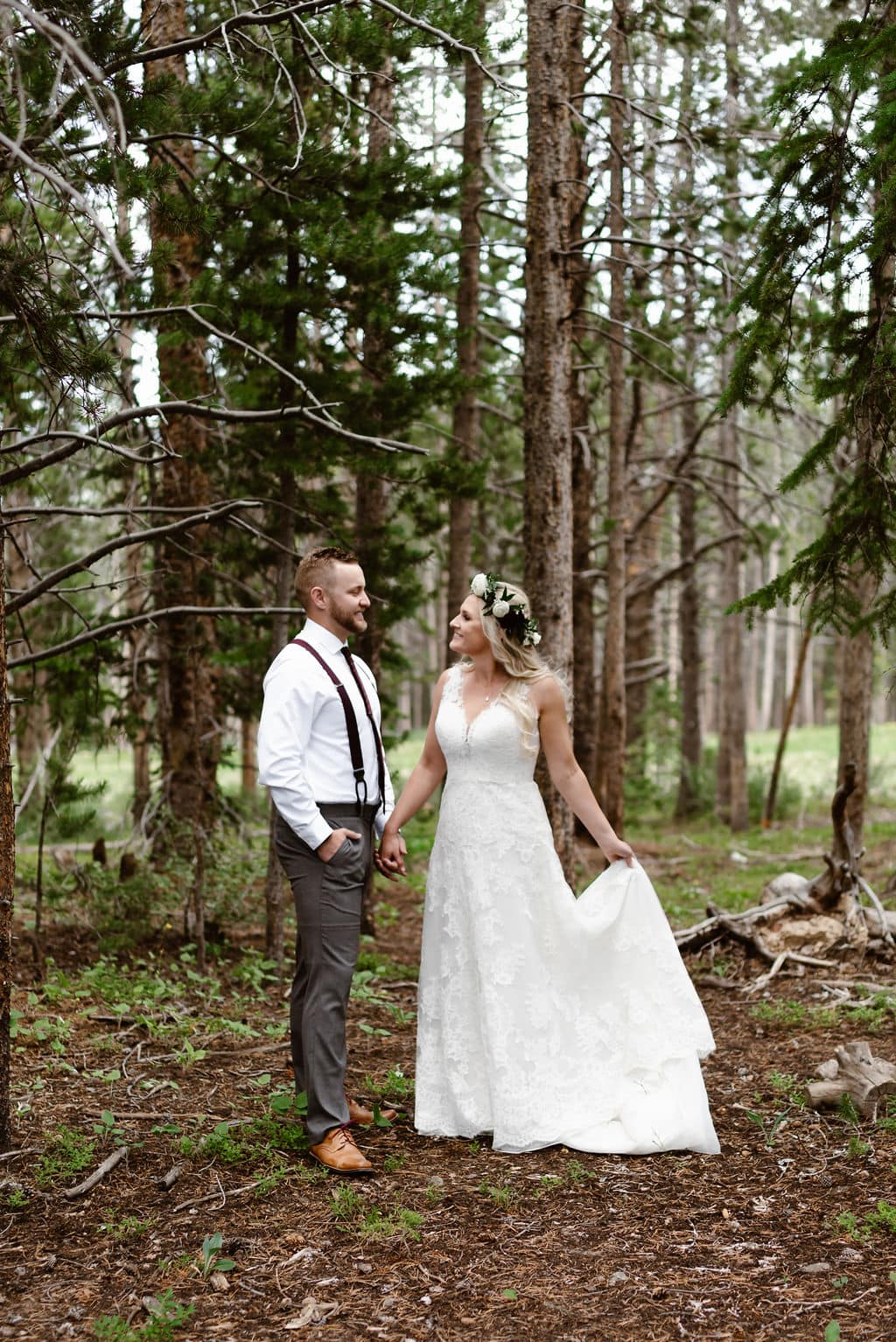 First look at Ten Mile Station Wedding