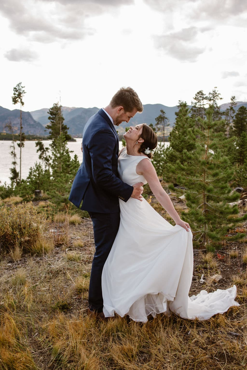 Windy Point Campground Wedding Day Portraits