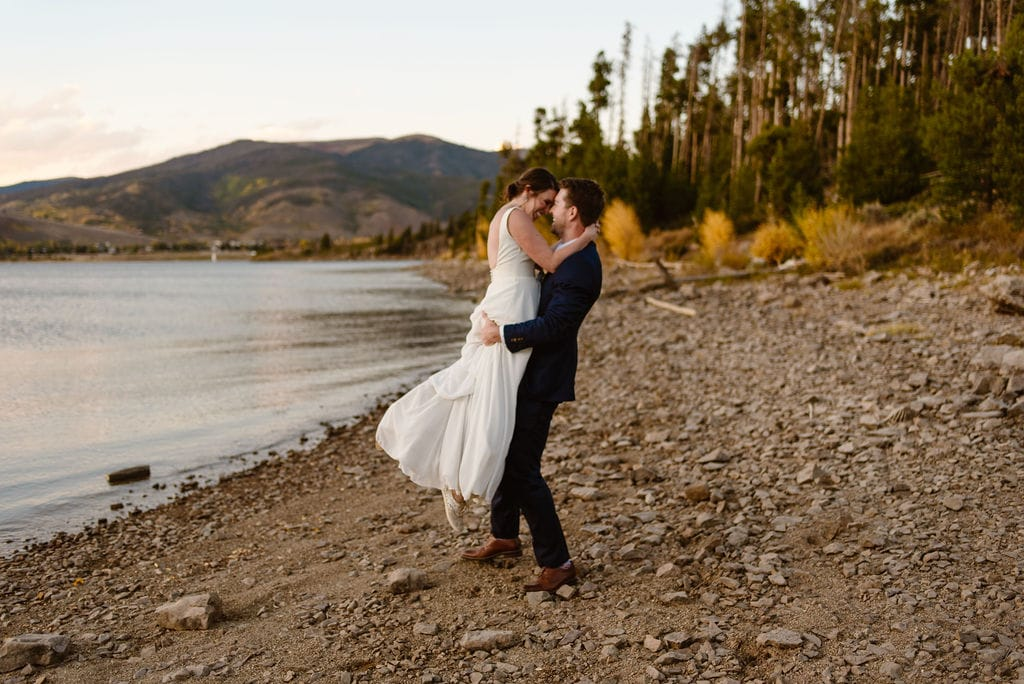 Colorado Mountain Wedding at Windy Point Campground