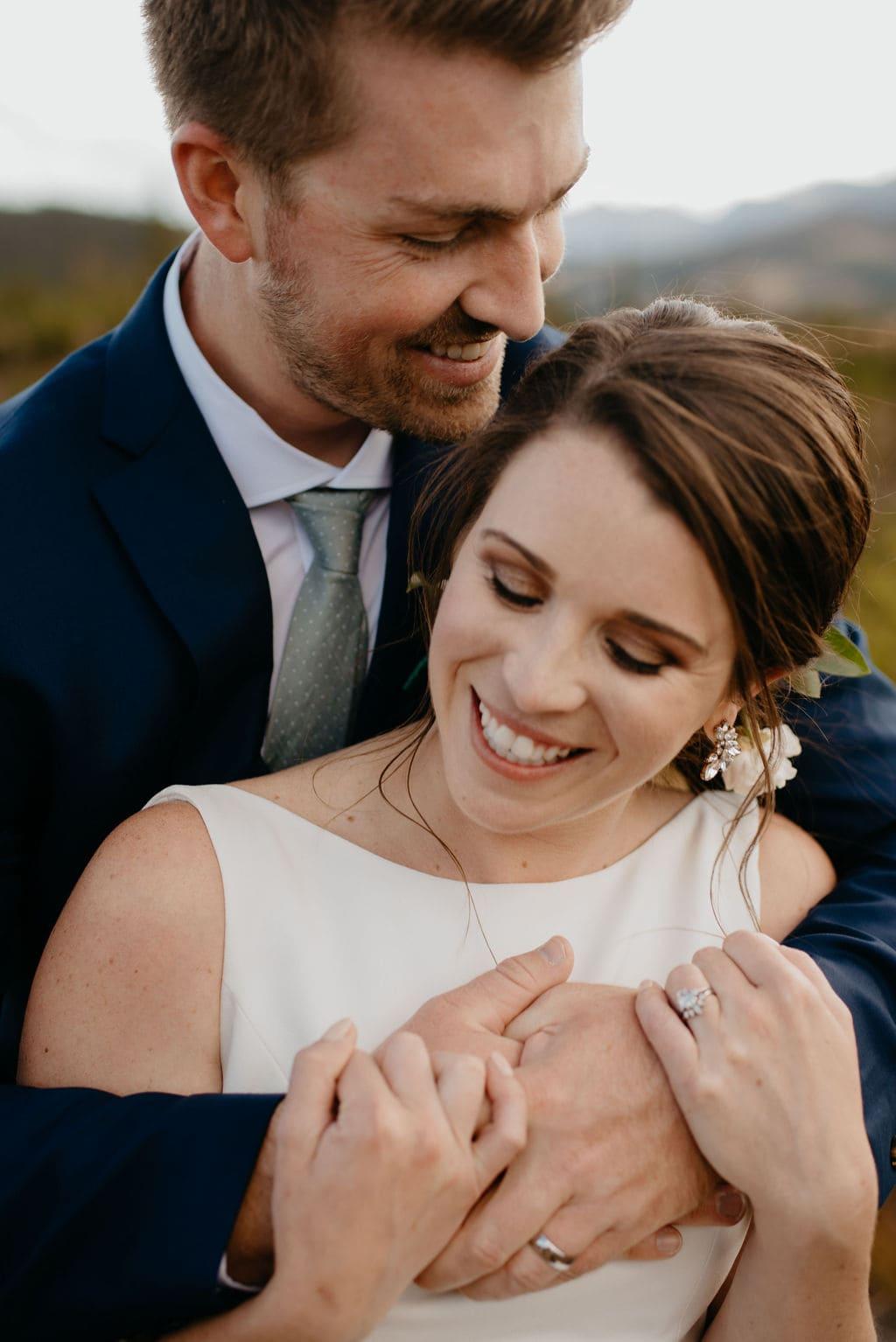 Lake Dillon Wedding Portraits
