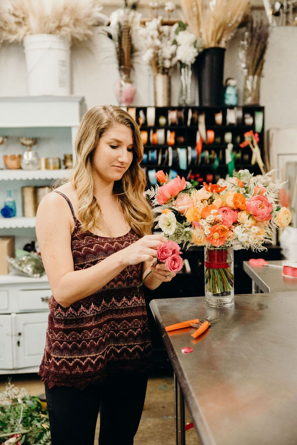 Sabia with the Painted Primrose - Florist in Colorado