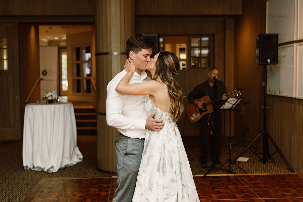 Bride and Groom first dance at the little nell