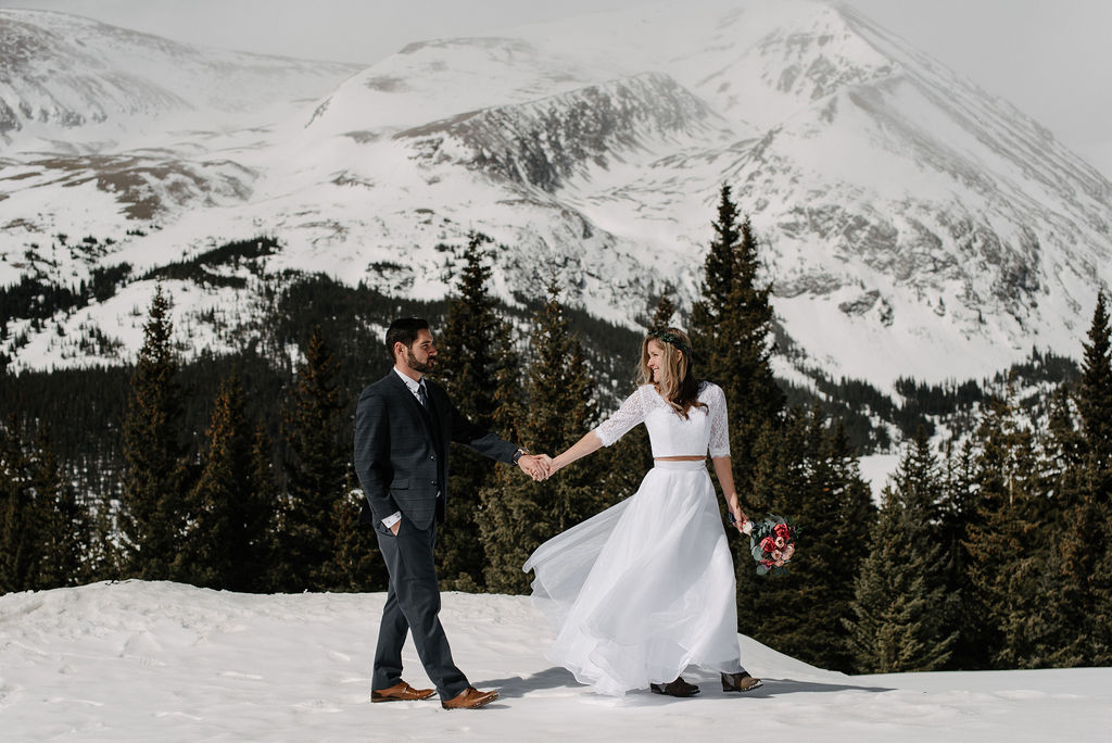 Best Places To Elope in Colorado in the Winter