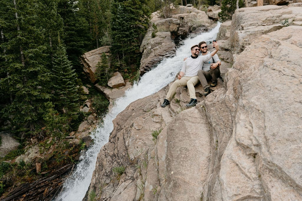 Waterfalls in Rocky Mountain National Park