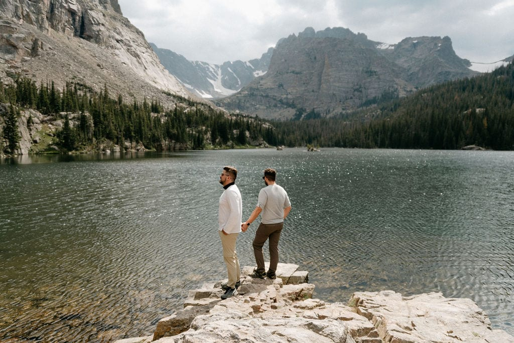 Loch Lake Couples Session in RMNP