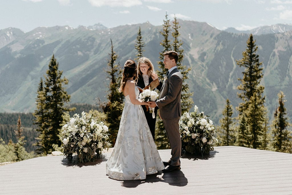 Aspen Colorado Wedding Ceremony at The Little Nell