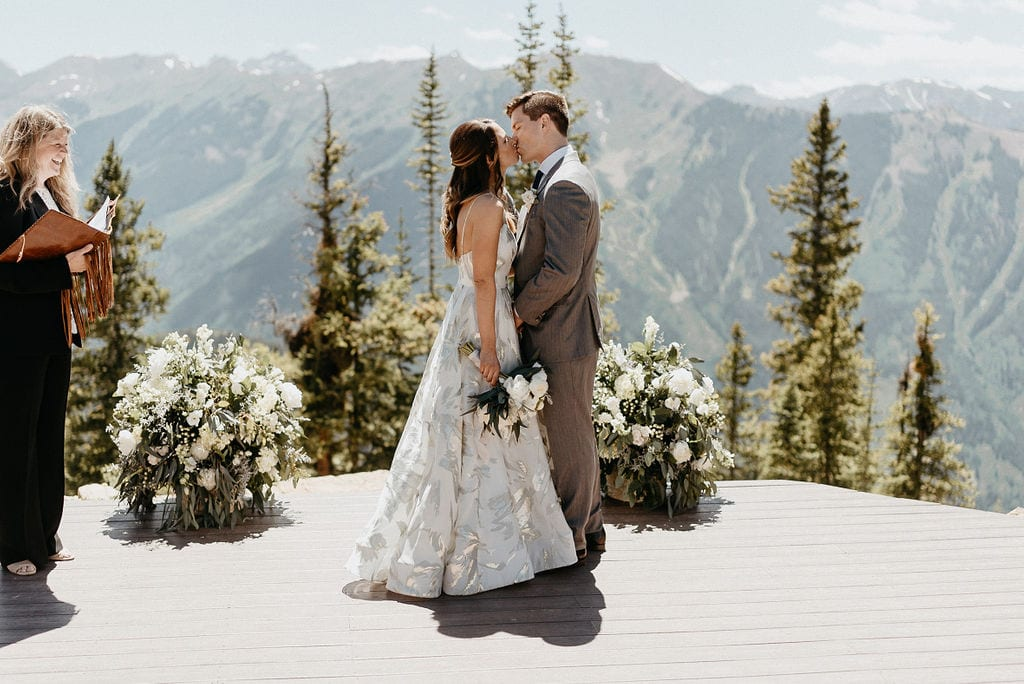 Aspen Wedding Ceremony at The Little Nell
