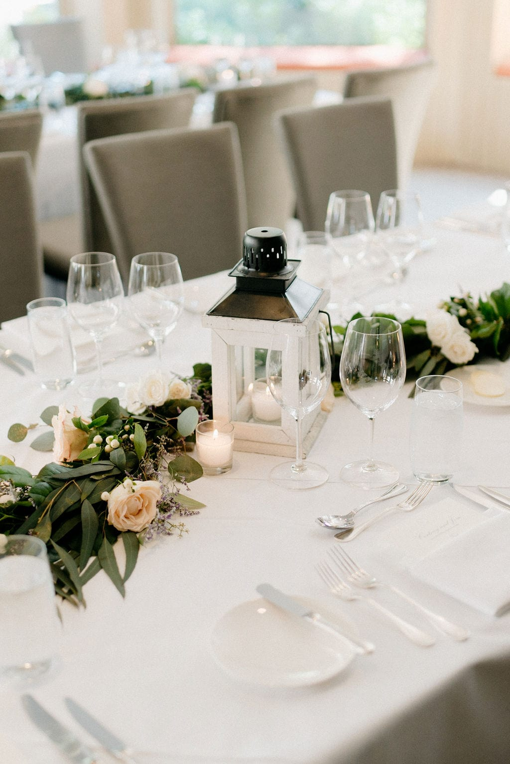 Wedding Reception details at the Little Nell