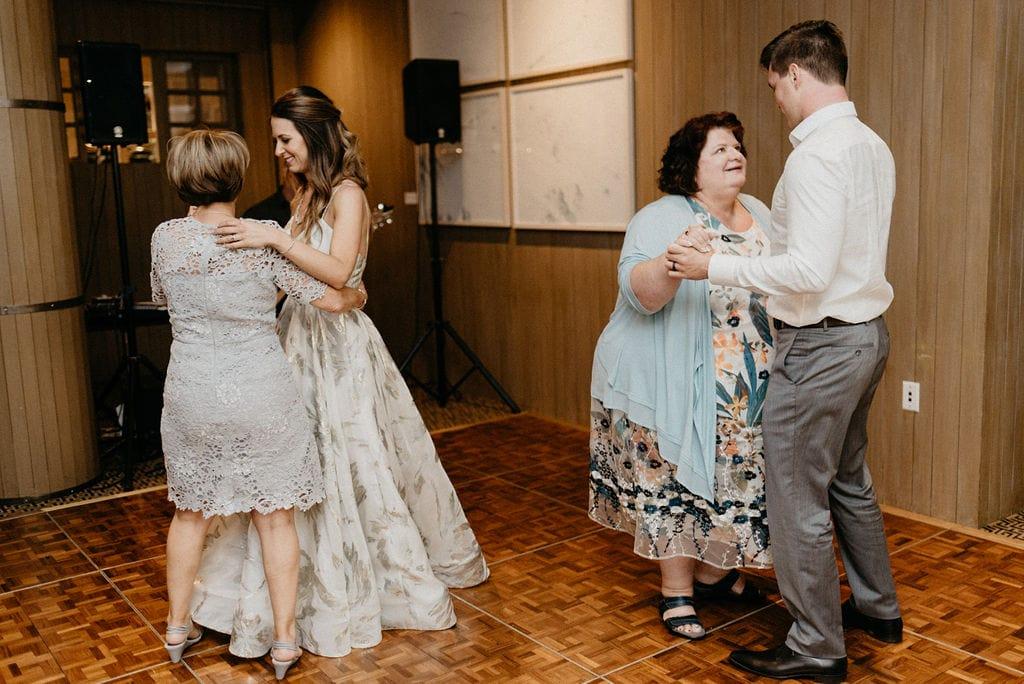 wedding parent dances at the little nell aspen