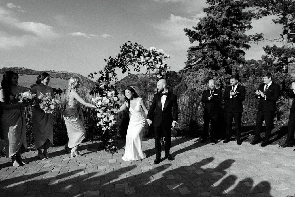 Sunny Wedding Ceremony in Denver, Colorado