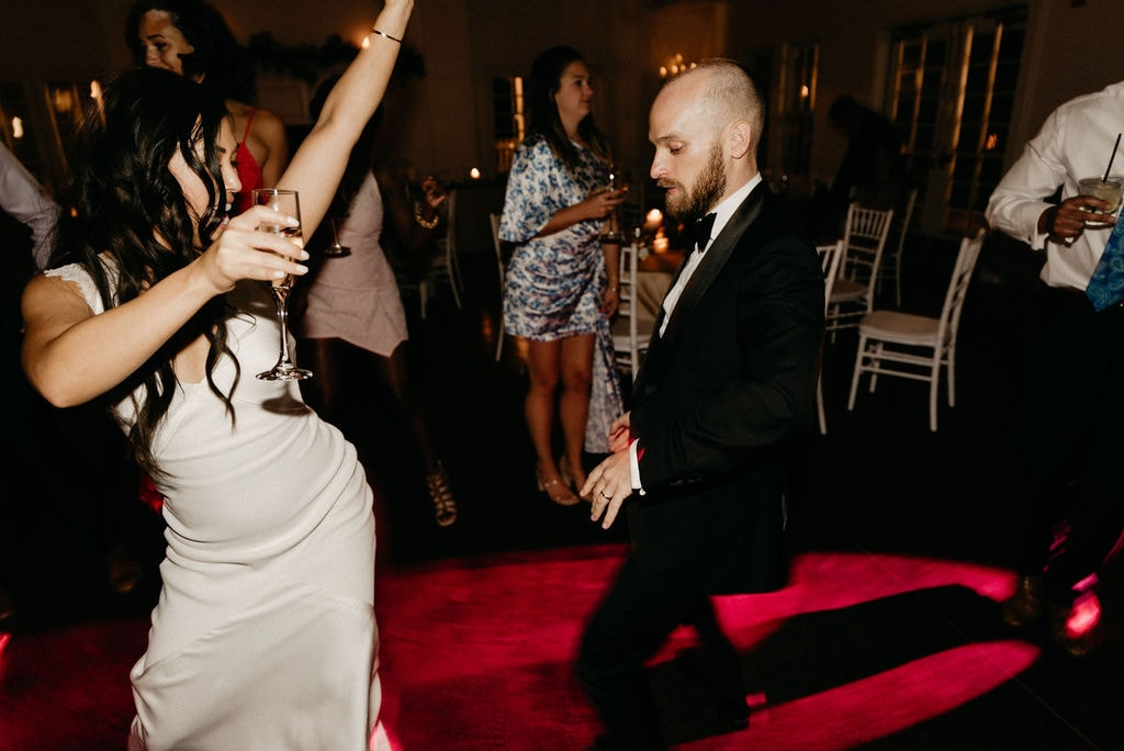 Dancing at Manor House Wedding in Littleton