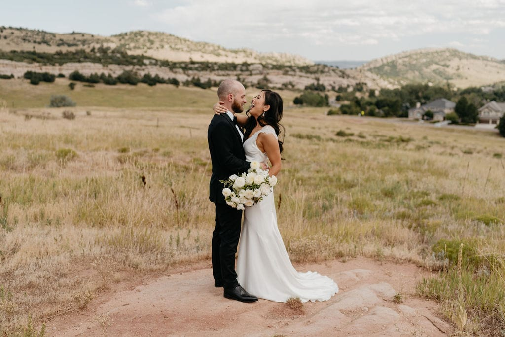 Denver Wedding First Look at Manor House