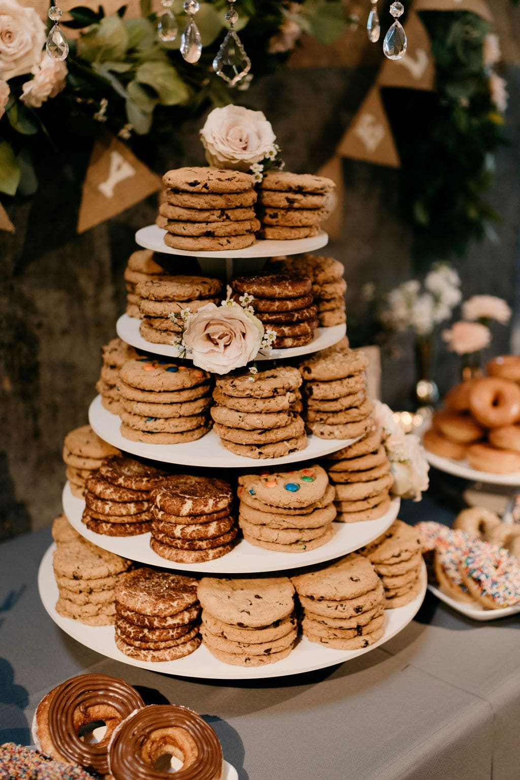 cookies as wedding desserts