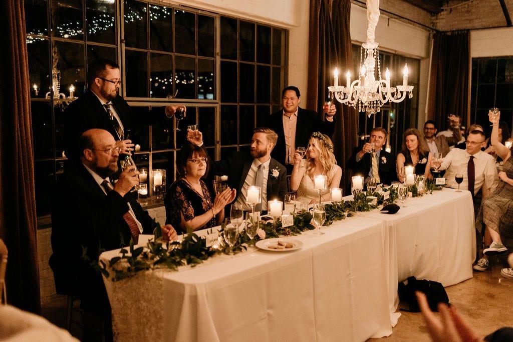 Wedding Toasts in dallas