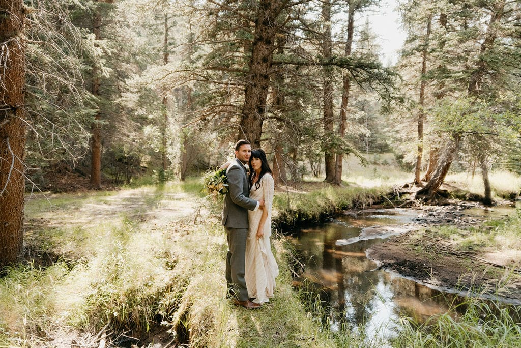Wedding Portraits at Mountain View Ranch