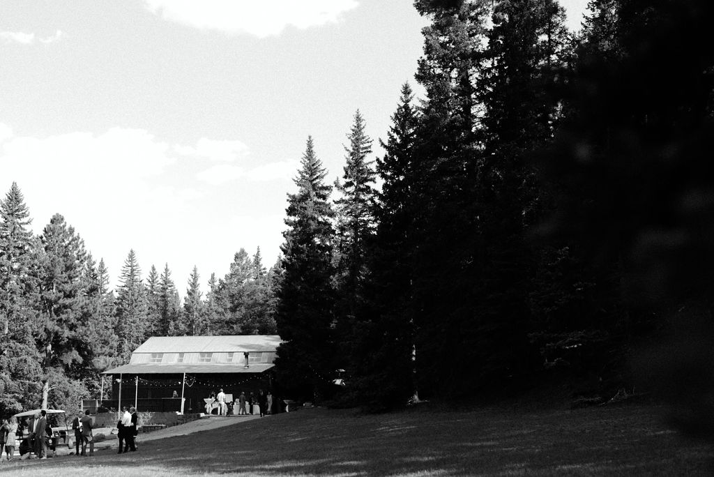 Reception hall at Wedgewood Mountain View Ranch