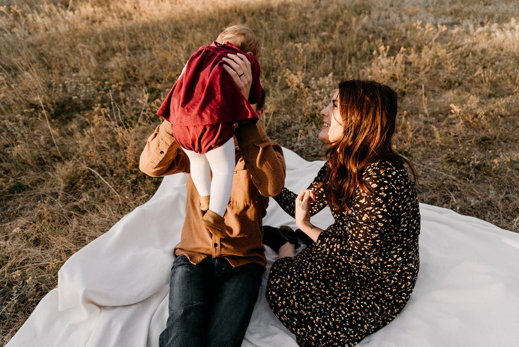Boulder Family session at sunrise