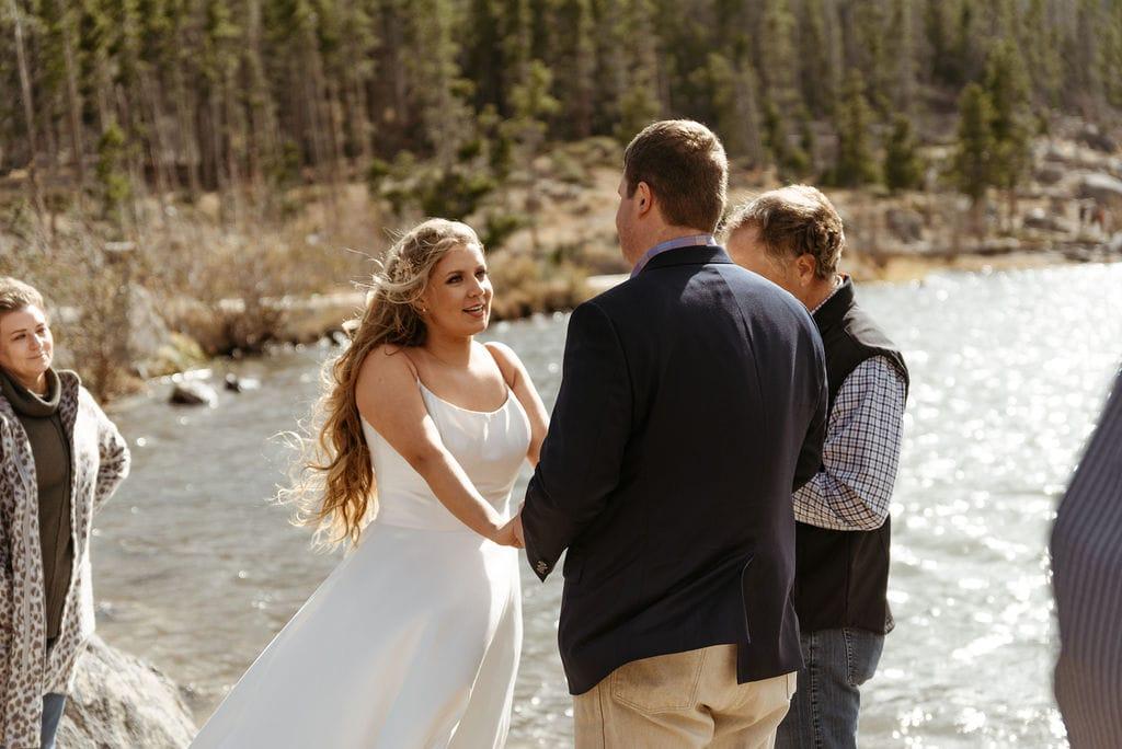 Romantic Fall Elopement at Sprague Lake