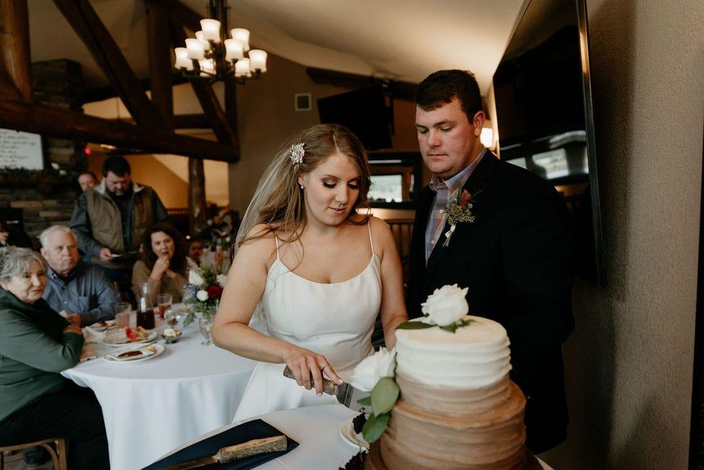 Cake Cutting in Estes Park Resort