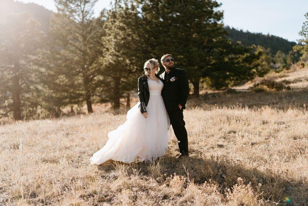 Estes park elopement at Hermit Park in Colorado