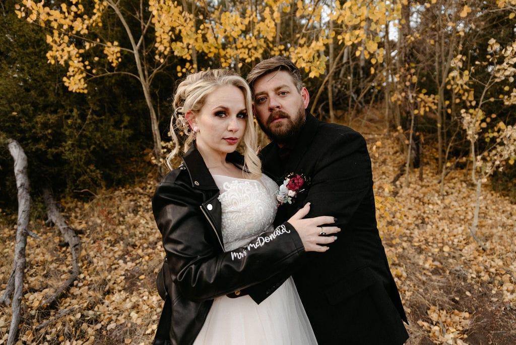estes park colorado wedding portraits