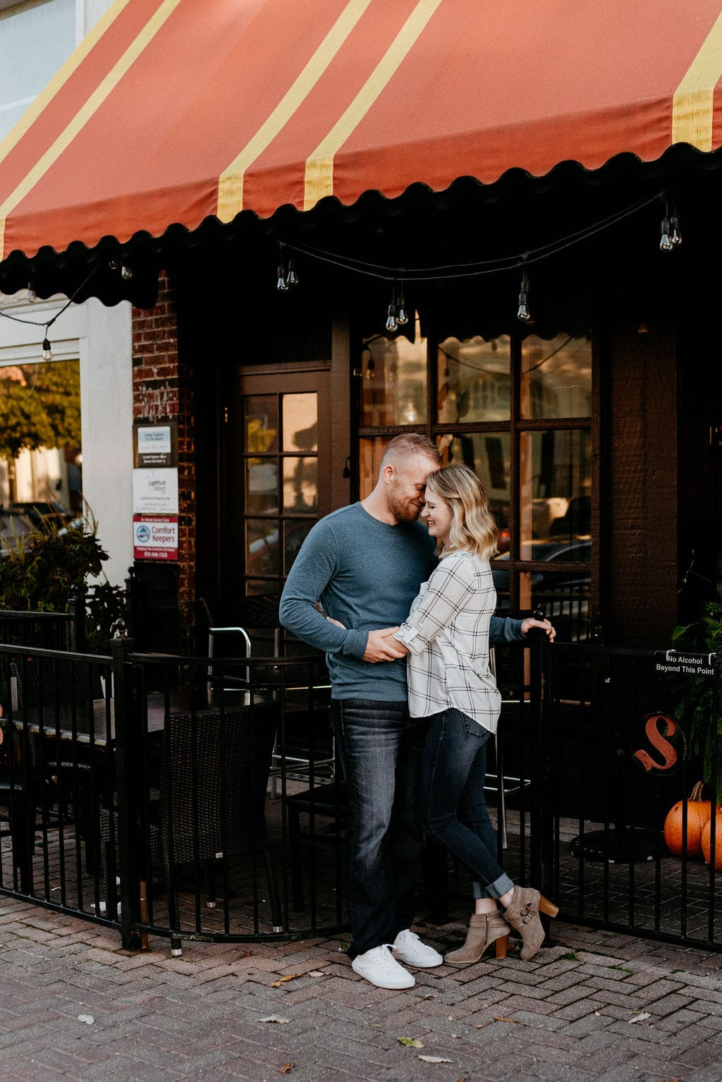 Engagement Session in Mckinney Square