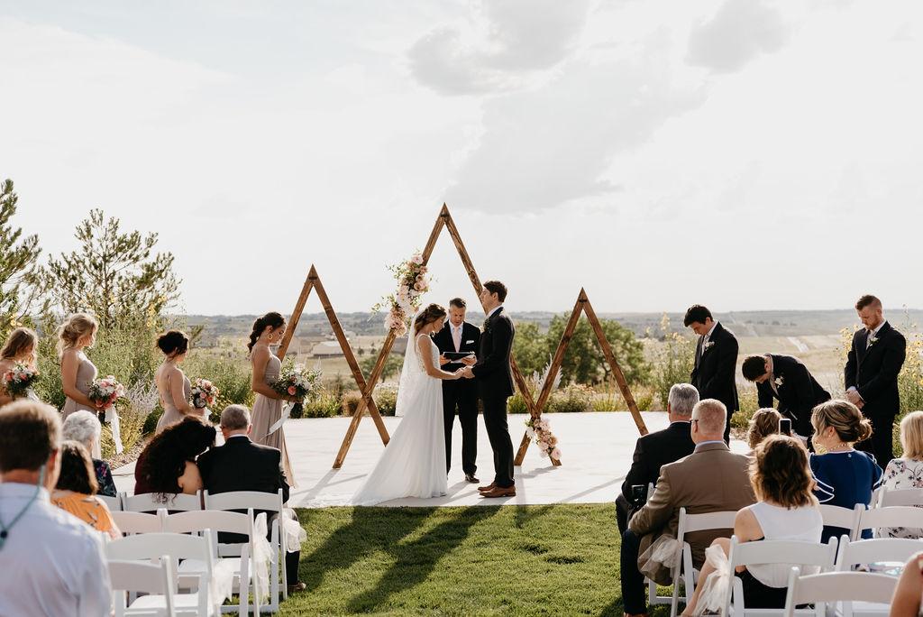 Bonnie Blues Wedding in Colorado