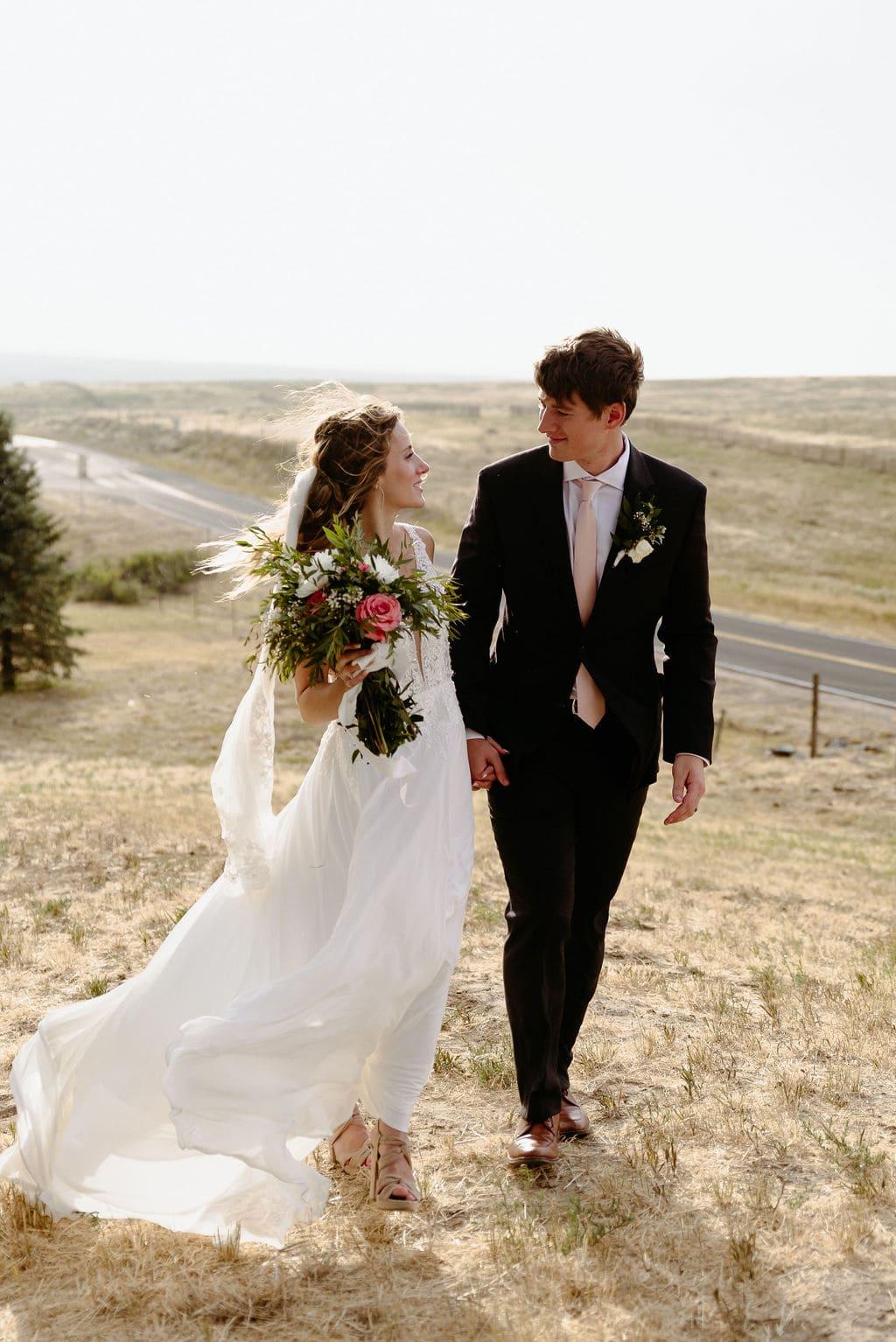 Bonnie Blues Wedding Couple
