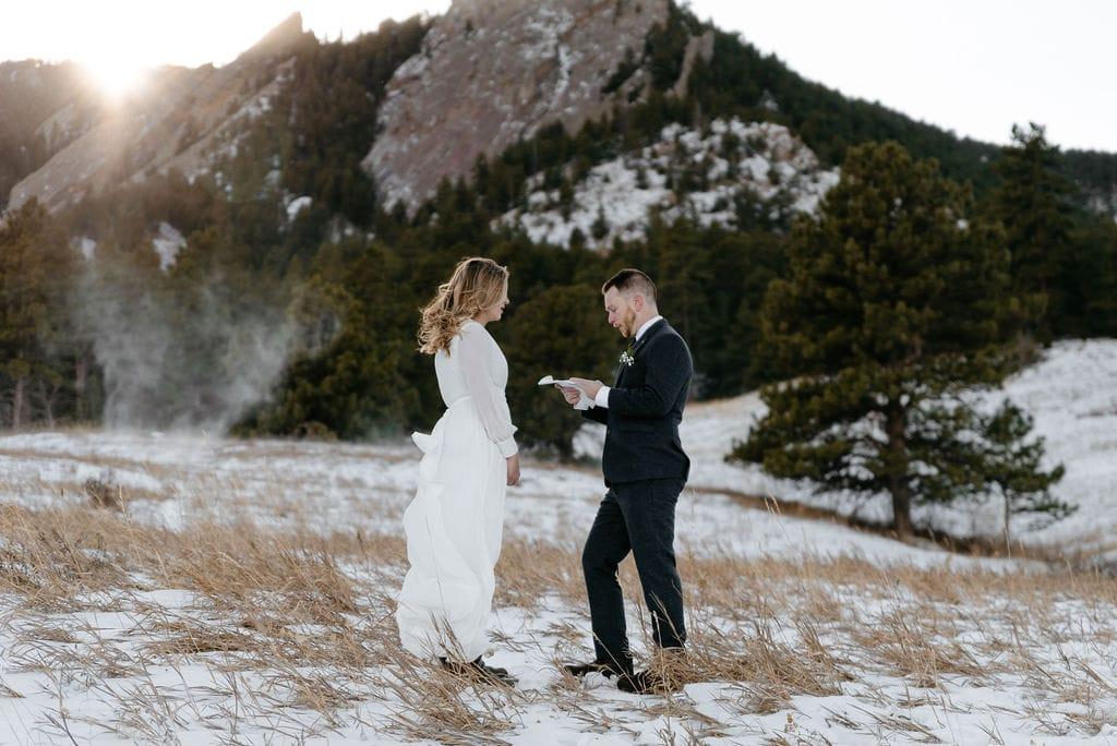 Colorado Elopement at Chautauqua Park Best Places to Elope in Colorado