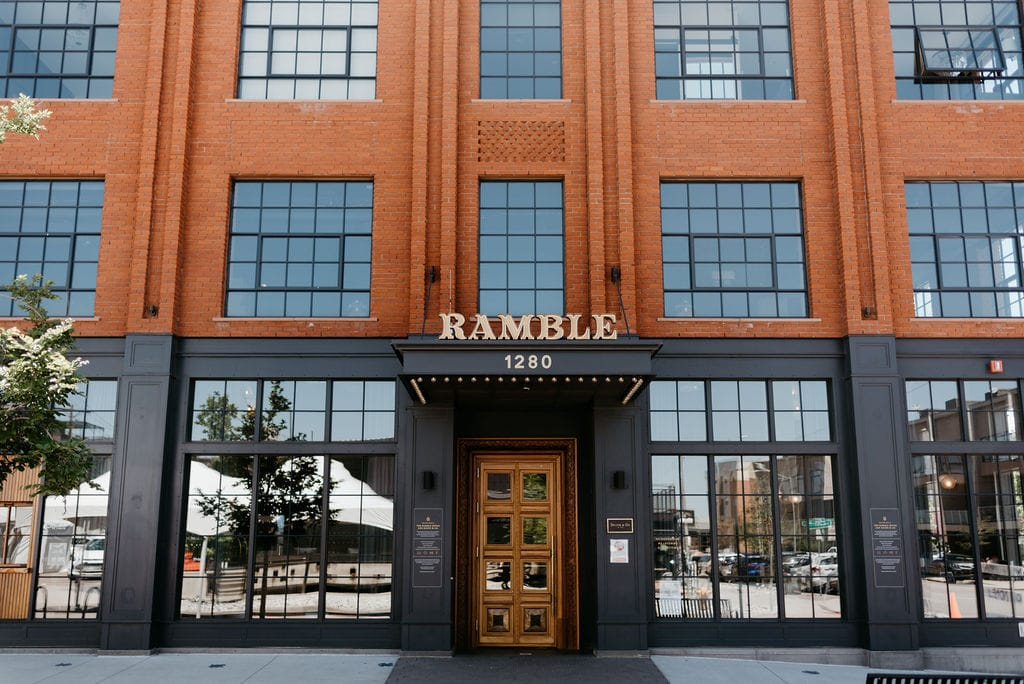 The Ramble Hotel Wedding in Downtown Denver