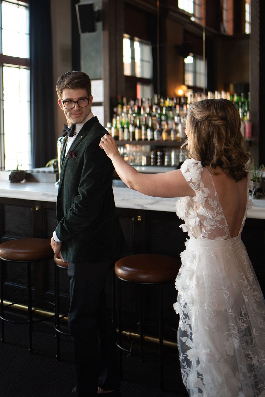 First look at Denver Colorado Elopement at The Ramble Hotel Downtown