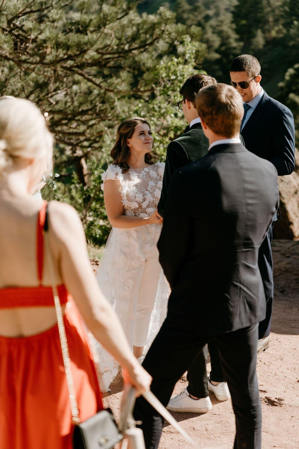 Settlers Park wedding In Boulder Colorado