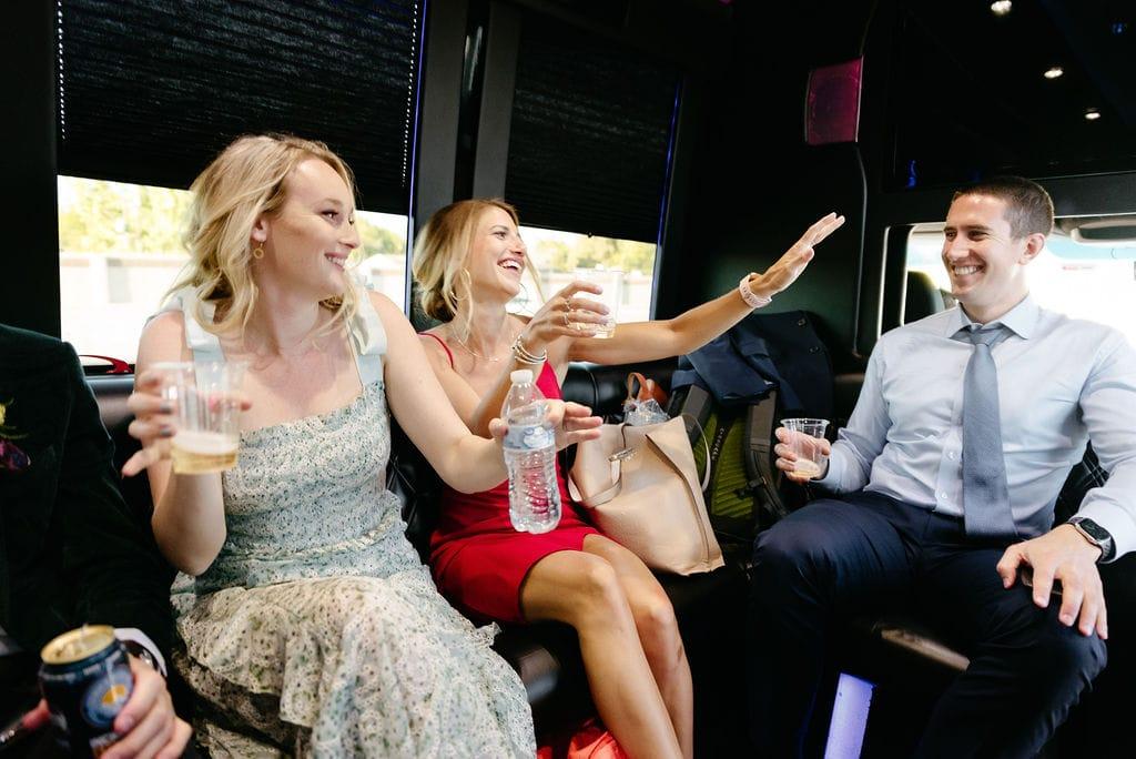 Party bus ride to denver after boulder elopement