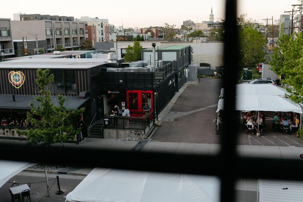 Cart Driver Restaurant in RINO denver