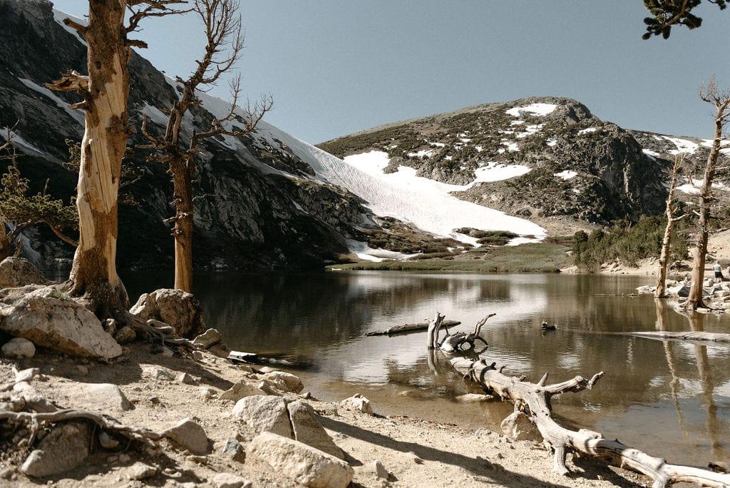 St Mary's Glacier in Idaho Springs Colorado