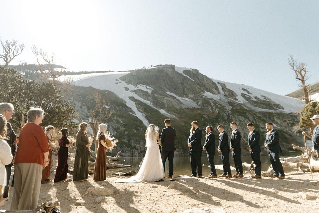 Colorado Elopement at St Mary's Glacier