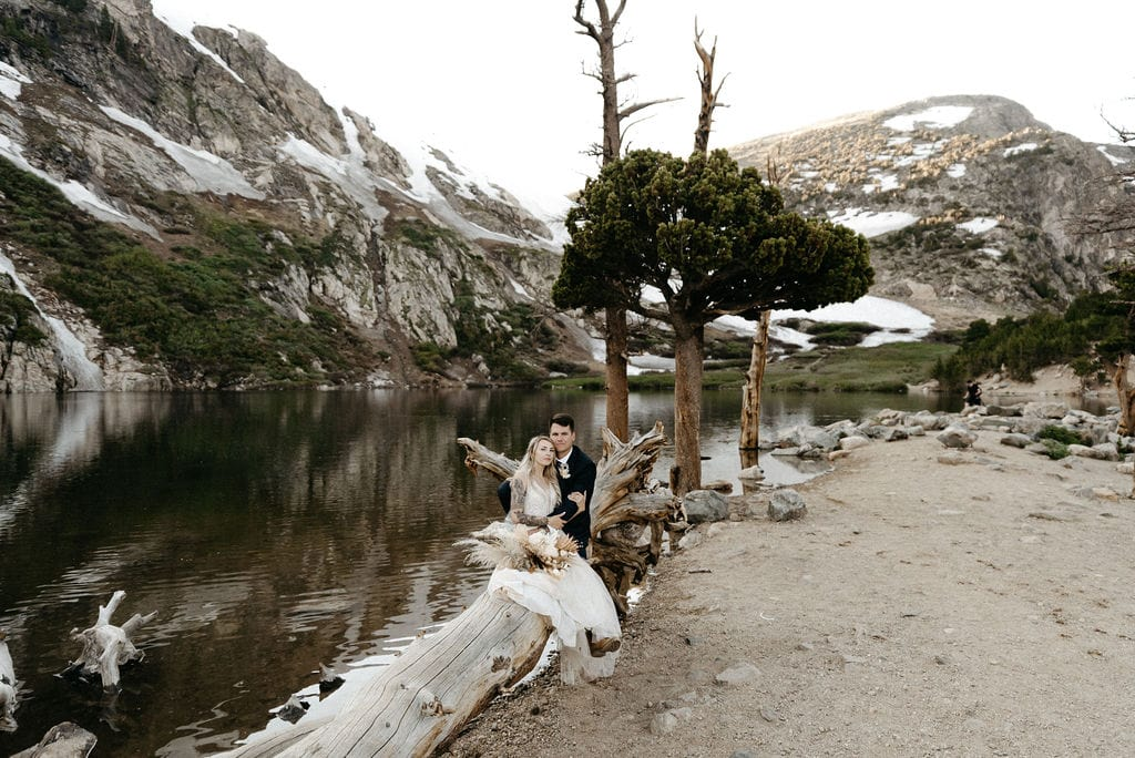 Colorado Elopement in the Mountains at St Marys Glacier