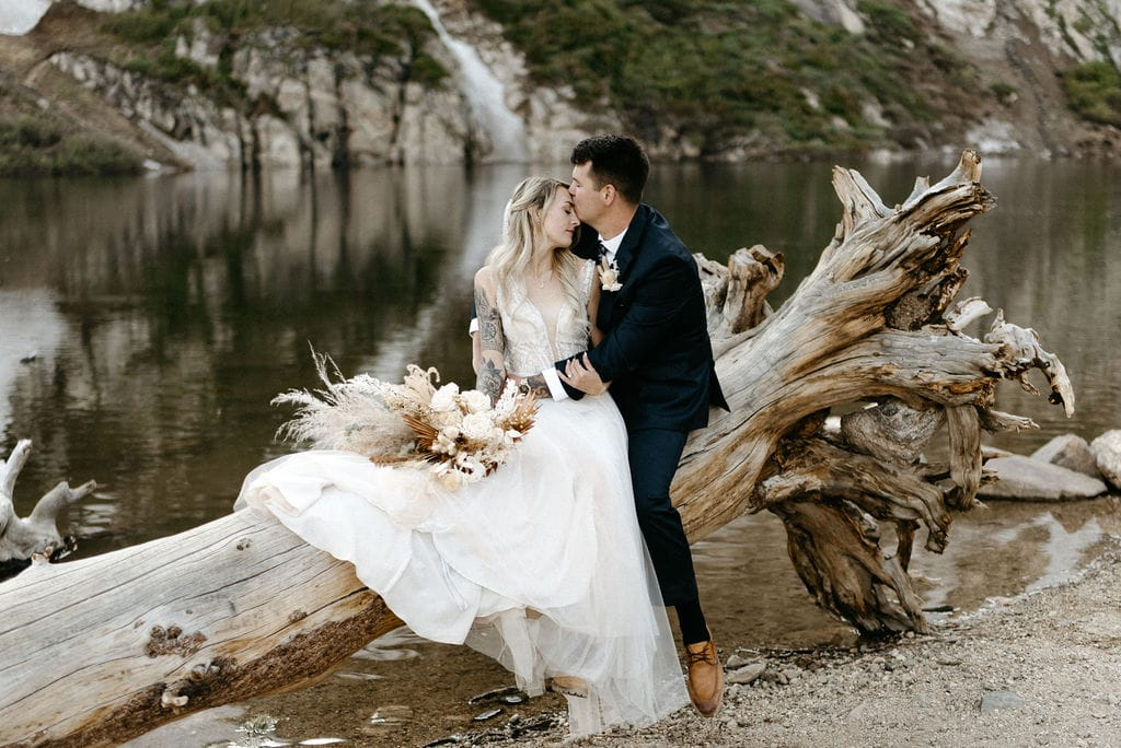 Best places to elope in Colorado St Marys Glacier