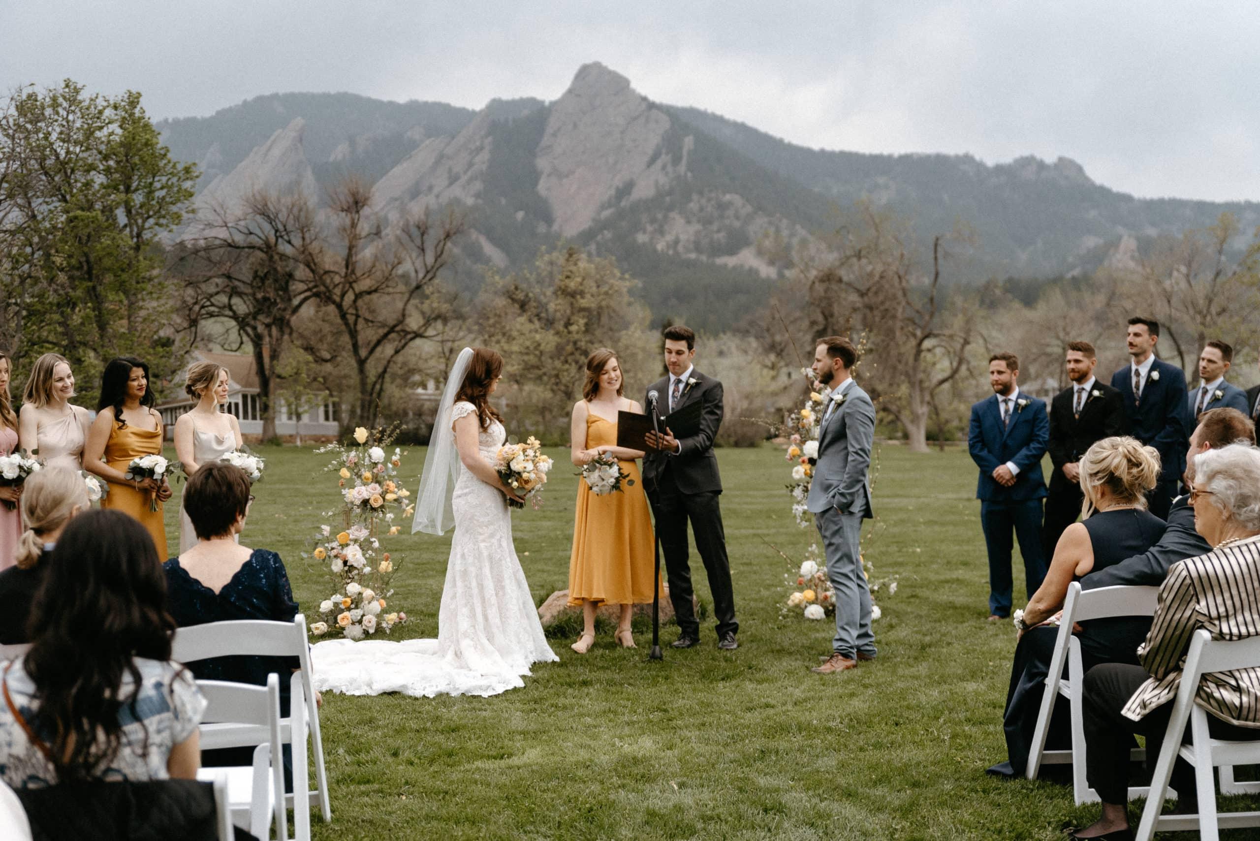 Chautauqua Park Wedding Location in Boulder