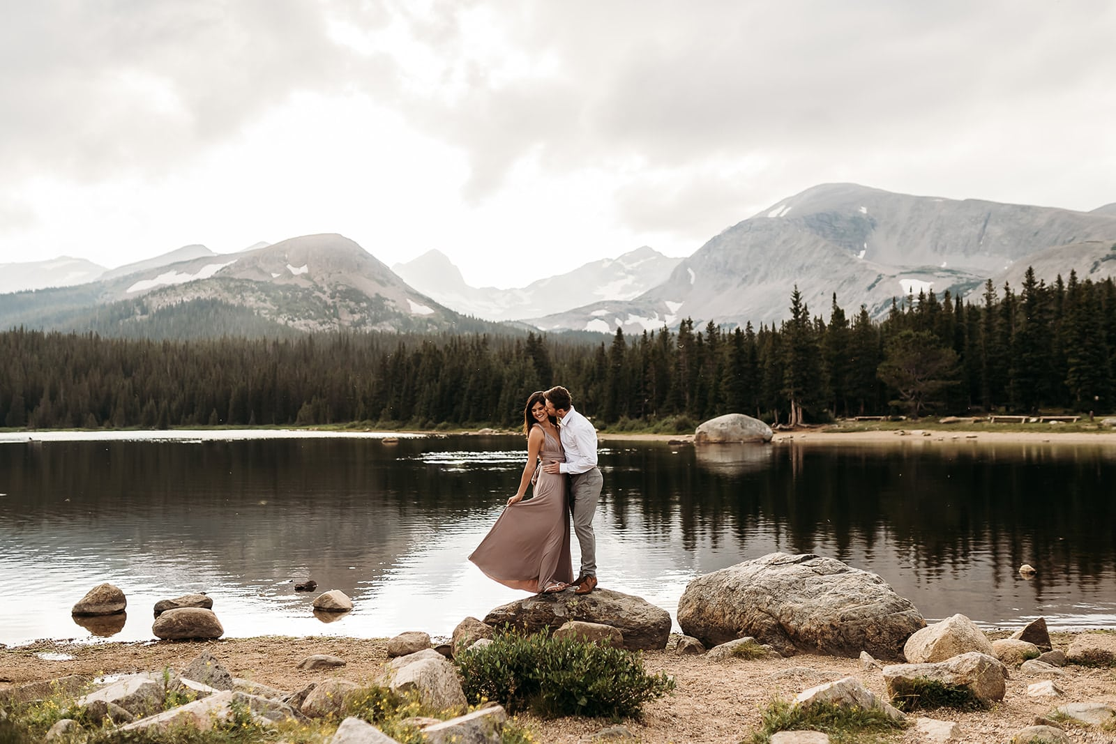 Brainard Lake Elopement Best Places To Elope in Colorado