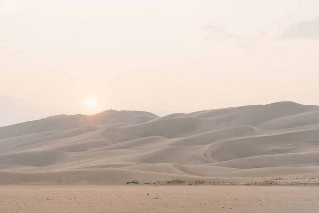 Great Sand Dunes Places to ELope in Colorado