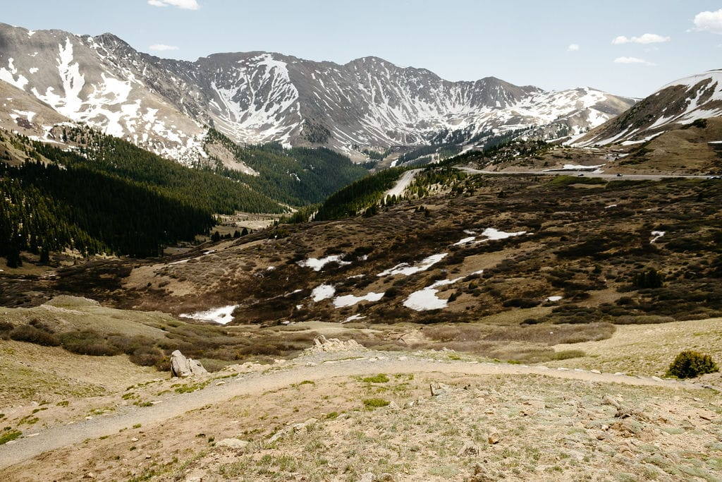 Best Places to Elope in Colorado loveland pass