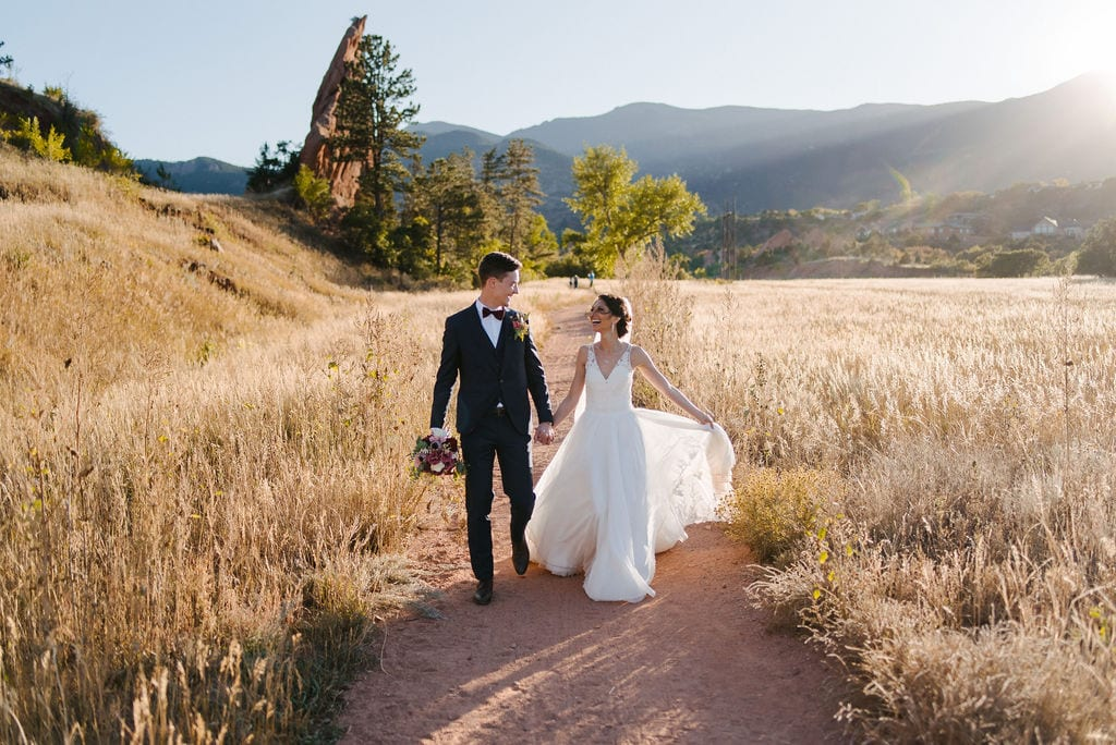 Red Rocks Canyon Open Space Best Places to Elope In Colorado