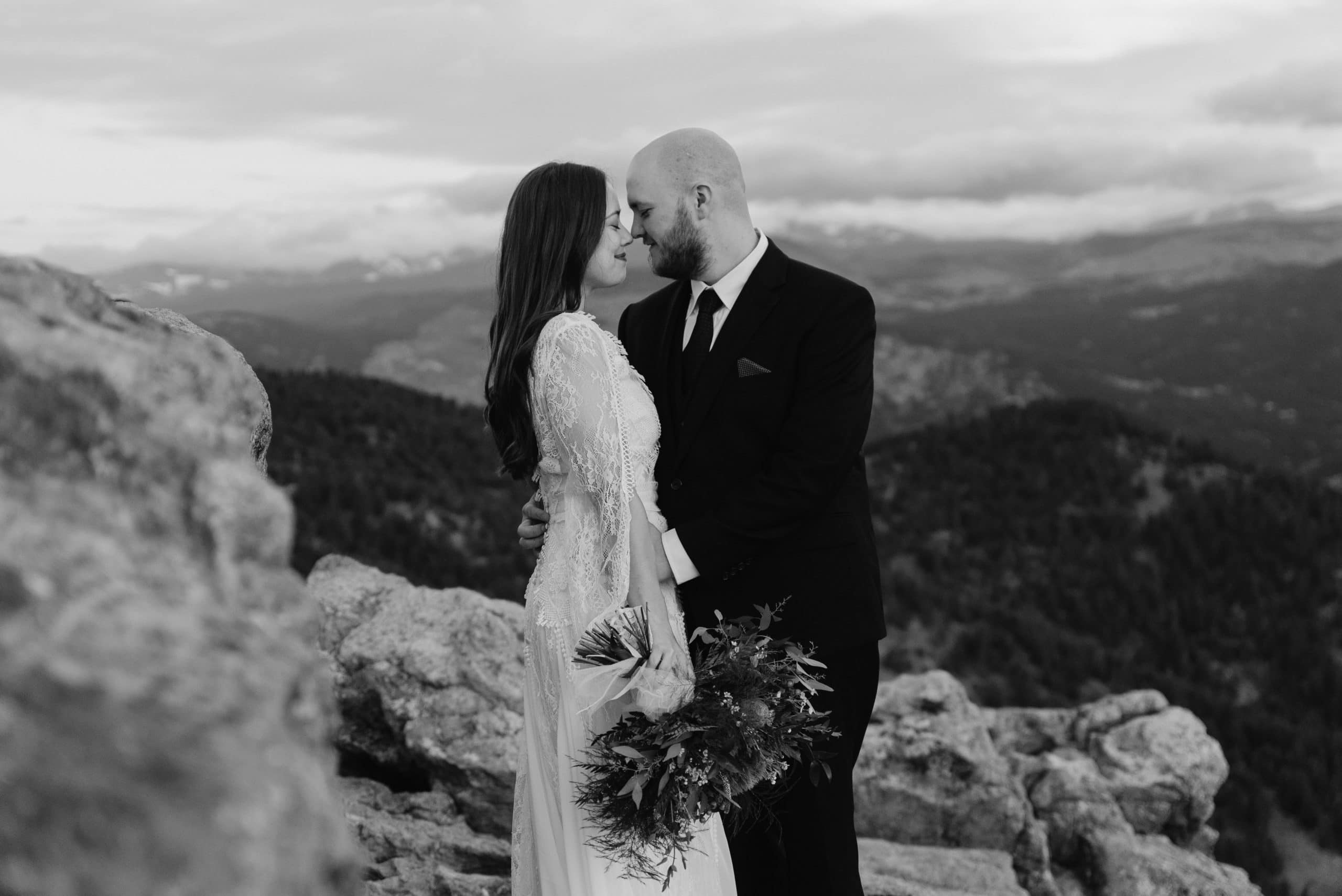 Boulder Colorado Wedding in the Mountains at Lost Gulch Overlook