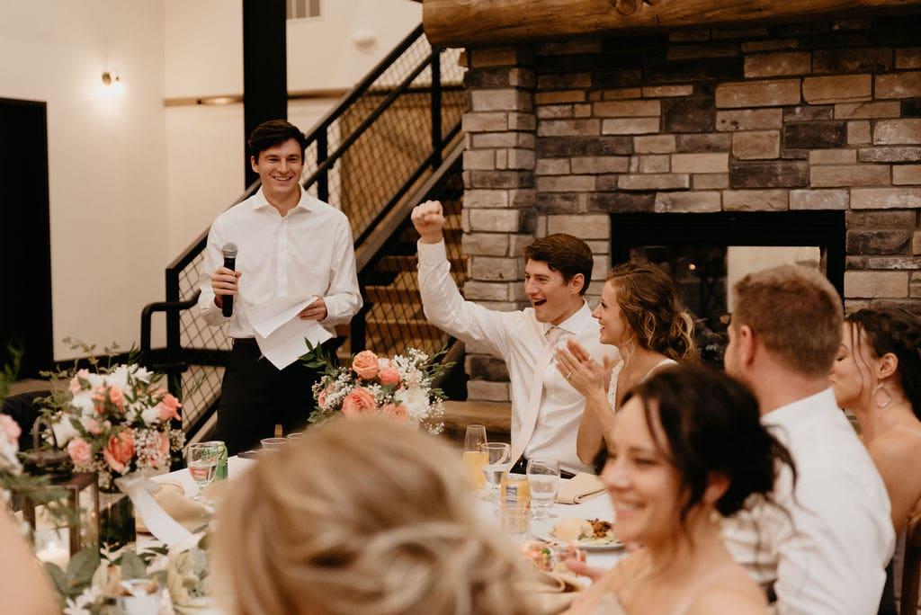 Receptions at Bonnie Blues Wedding in Colorado